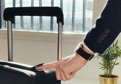 reisegepaeck.ch - Smart Luggage - Kabuto Xtend - Fingerabdrucksensor