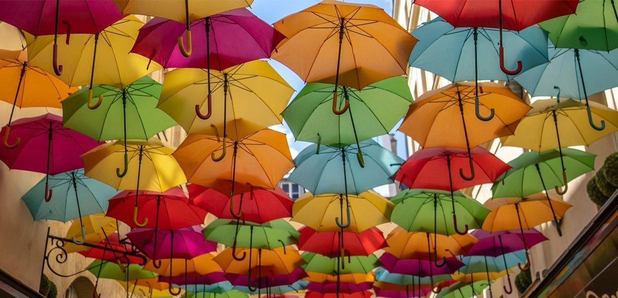 Kategorie Schirme