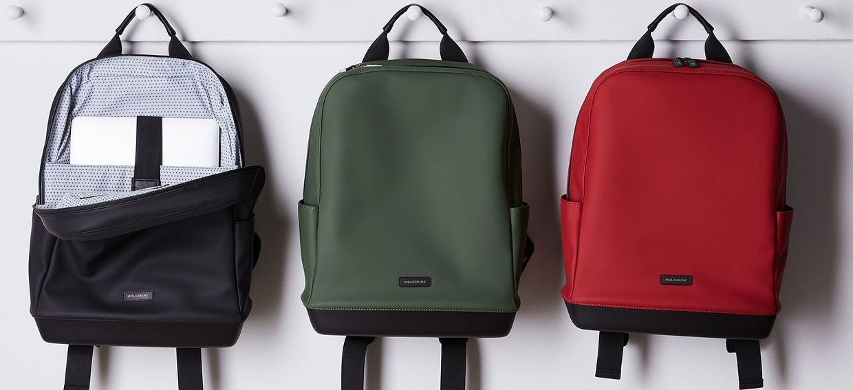 MOLESKINE Sof Touch Backpack - Mood